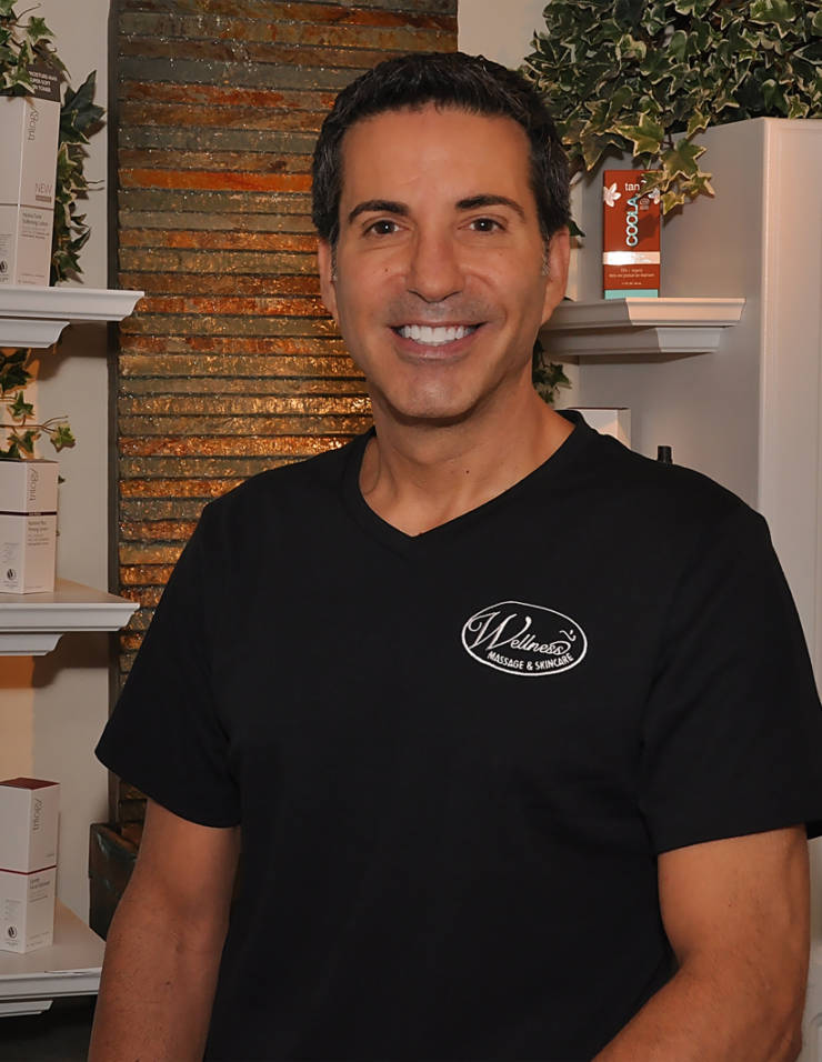 owner of Wellness Massage in Newton Centre Todd Billig
