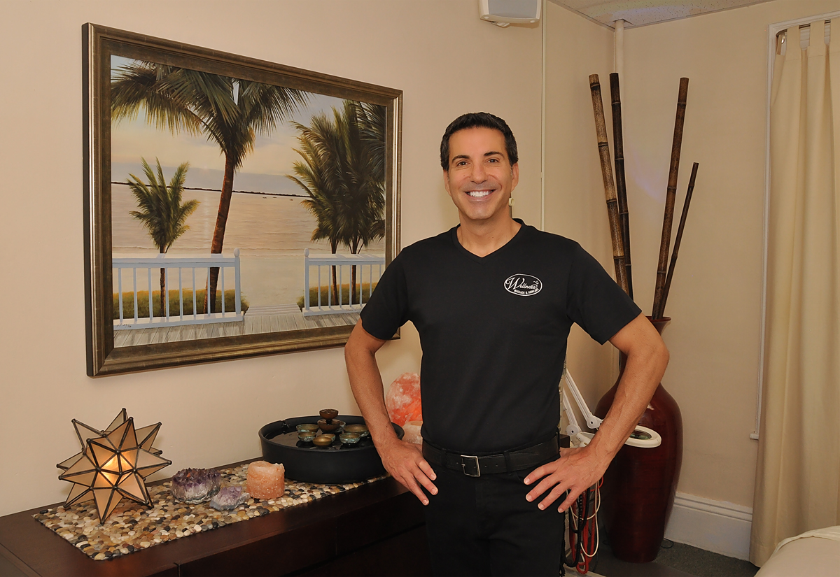 owner Todd Bilig of Wellness Massage Newton Centre, MA